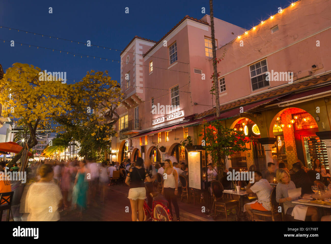 Espanola Way Miami Beach Restaurants