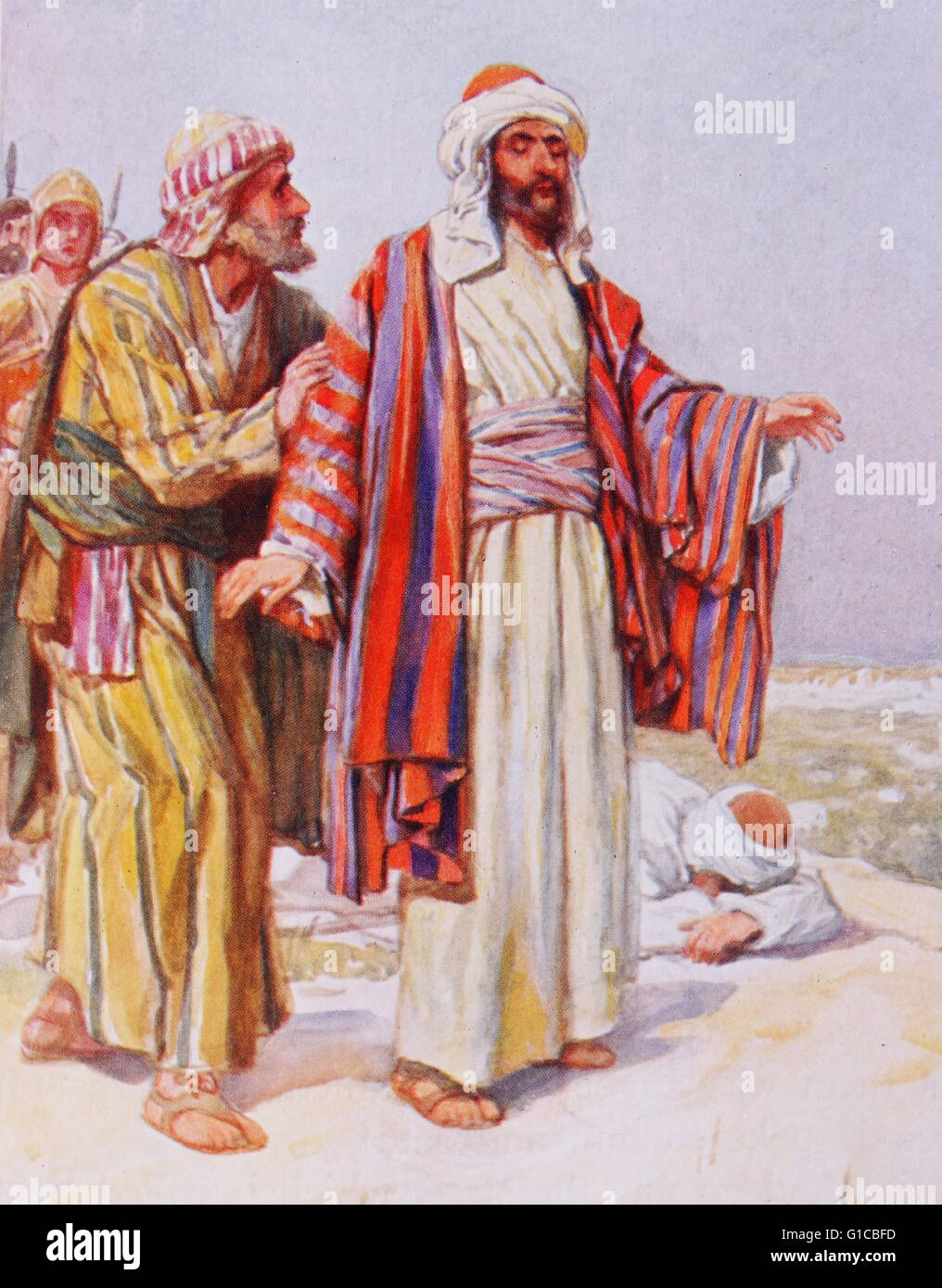Painting Depicting Saul Being Struck Blind On The Road To