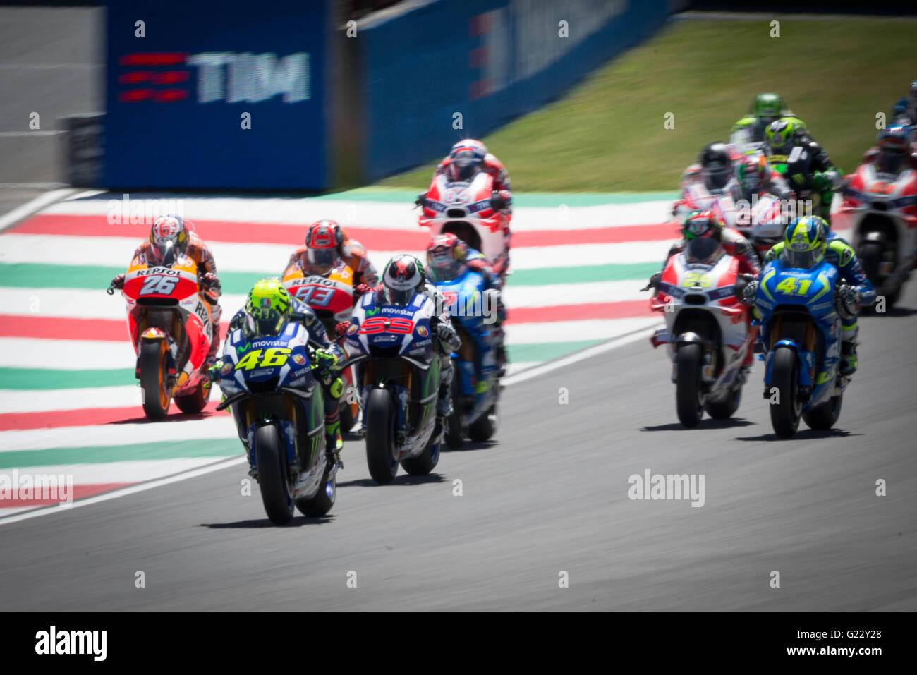 Circuit Italia Motogp : Mugello circuit tuscany italy nd may motogp