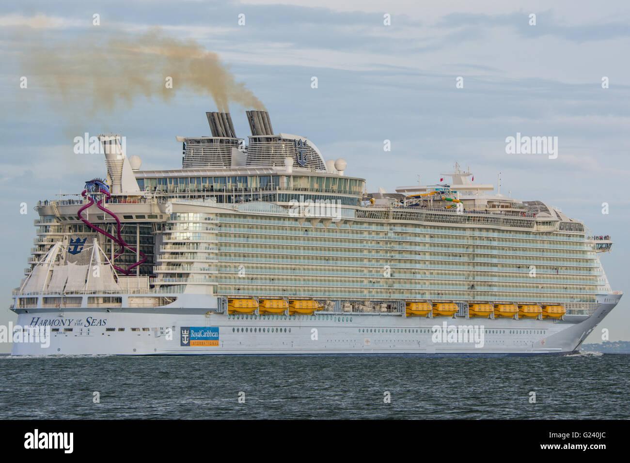Harmony Of The Seas Stock Photo Royalty Free Image
