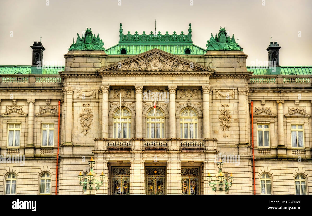 Akasaka palace or the state guest house in tokyo stock for Classic house akasaka