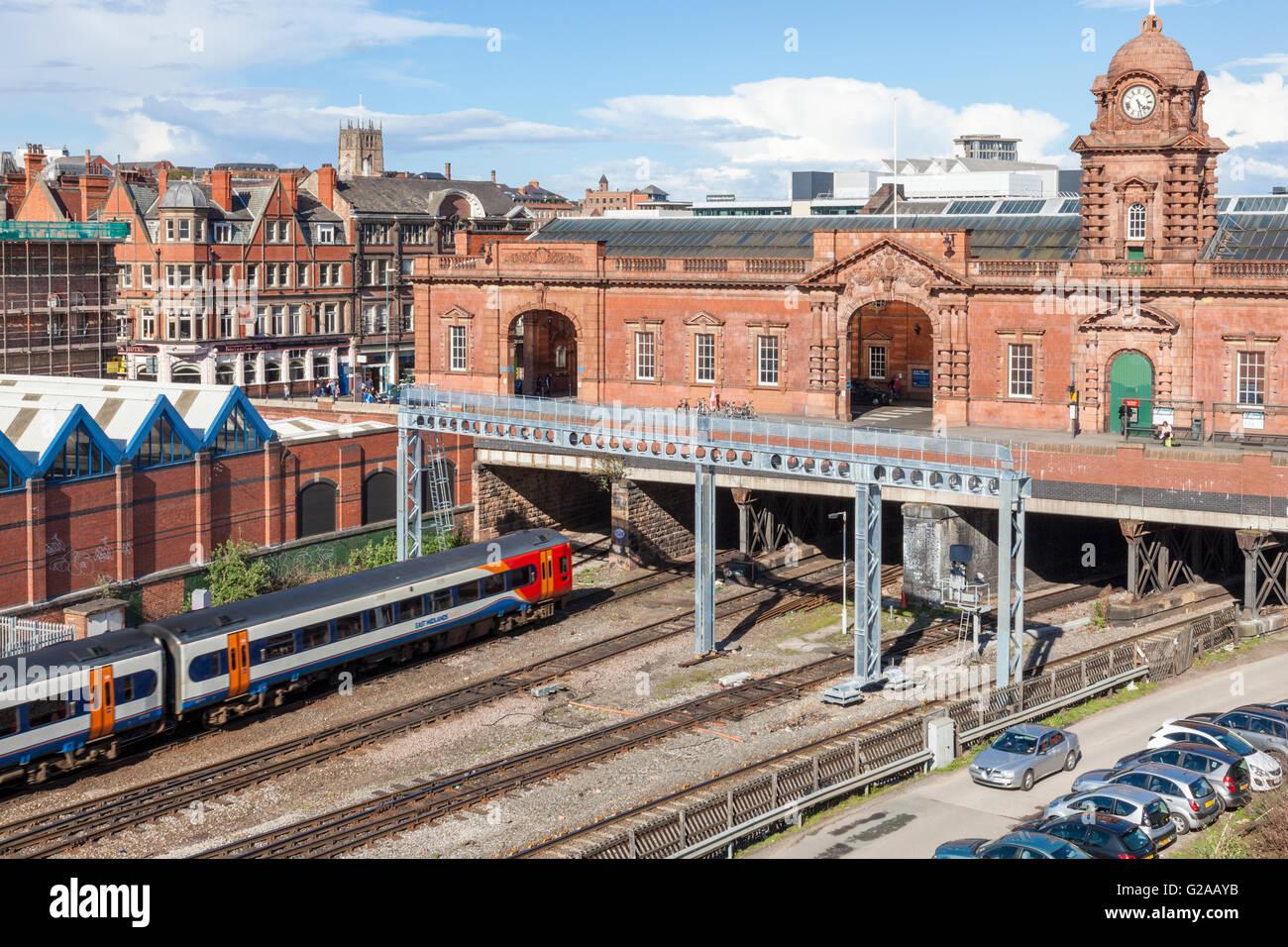 East Midlands Trains Leicester Car Park