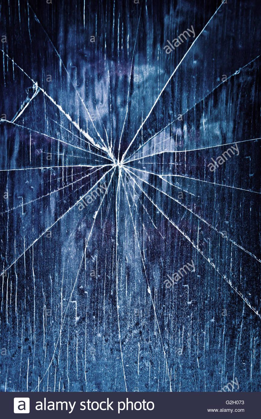broken glass Stock Foto