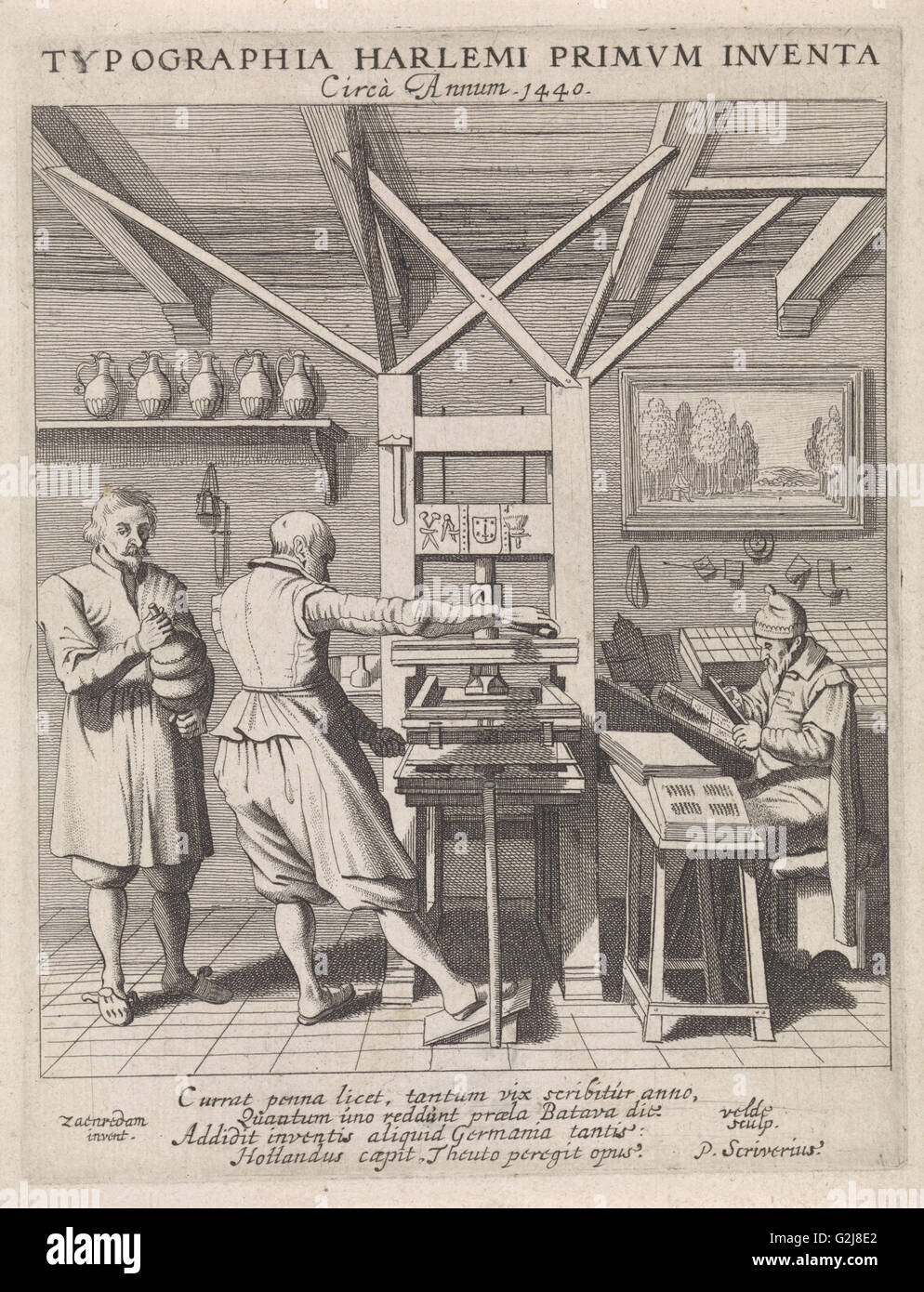 The invention of the printing press | Research paper Sample