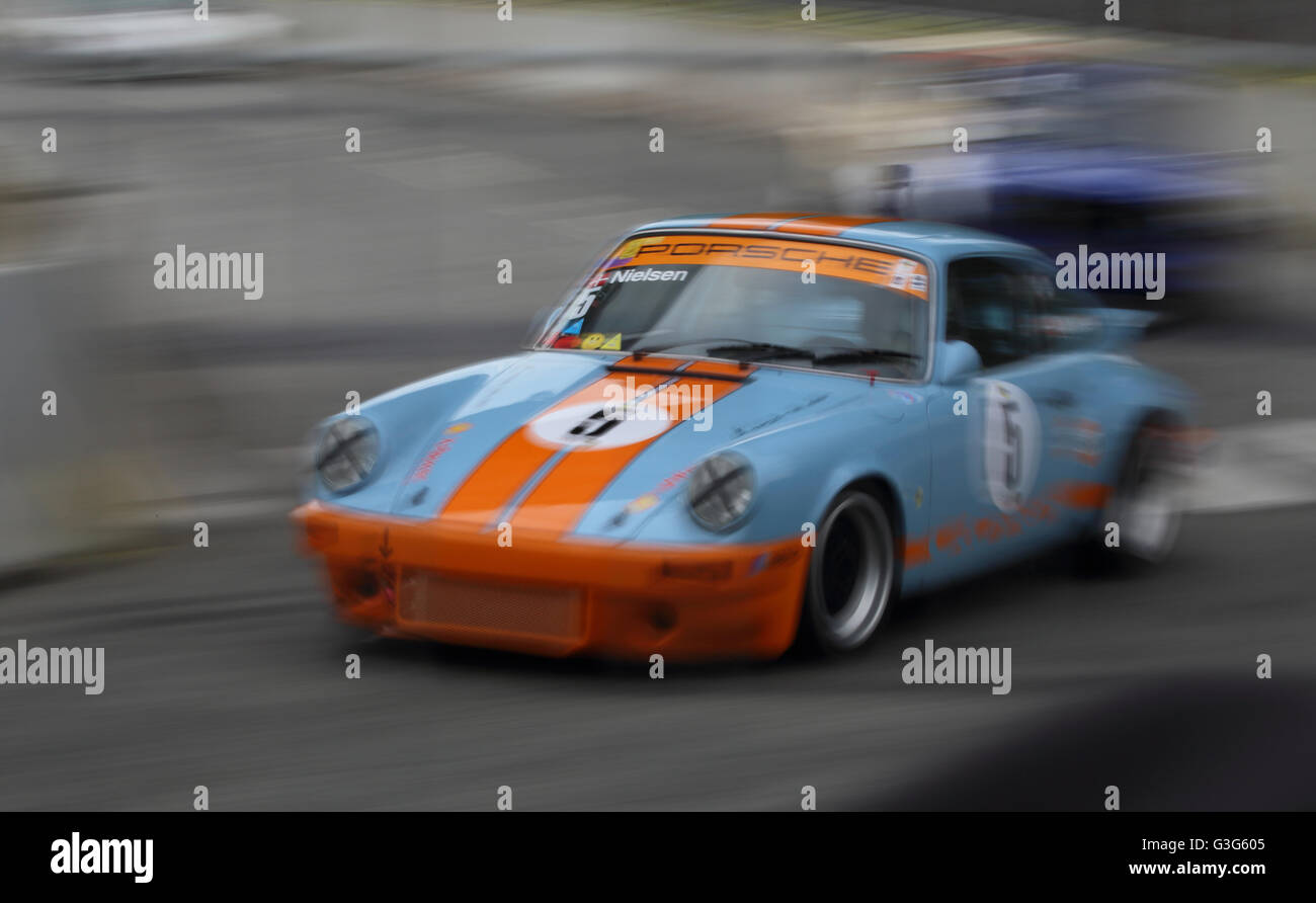 a-1976-porsche-911-being-raced-at-aarhus