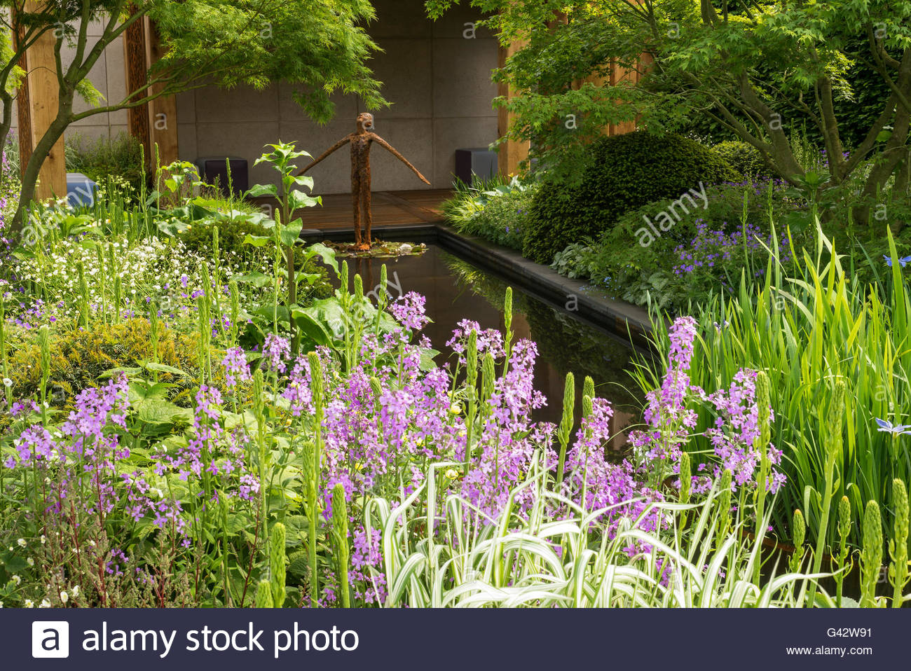 The morgan stanley garden for great ormond street hospital for Chelsea flower show garden designs