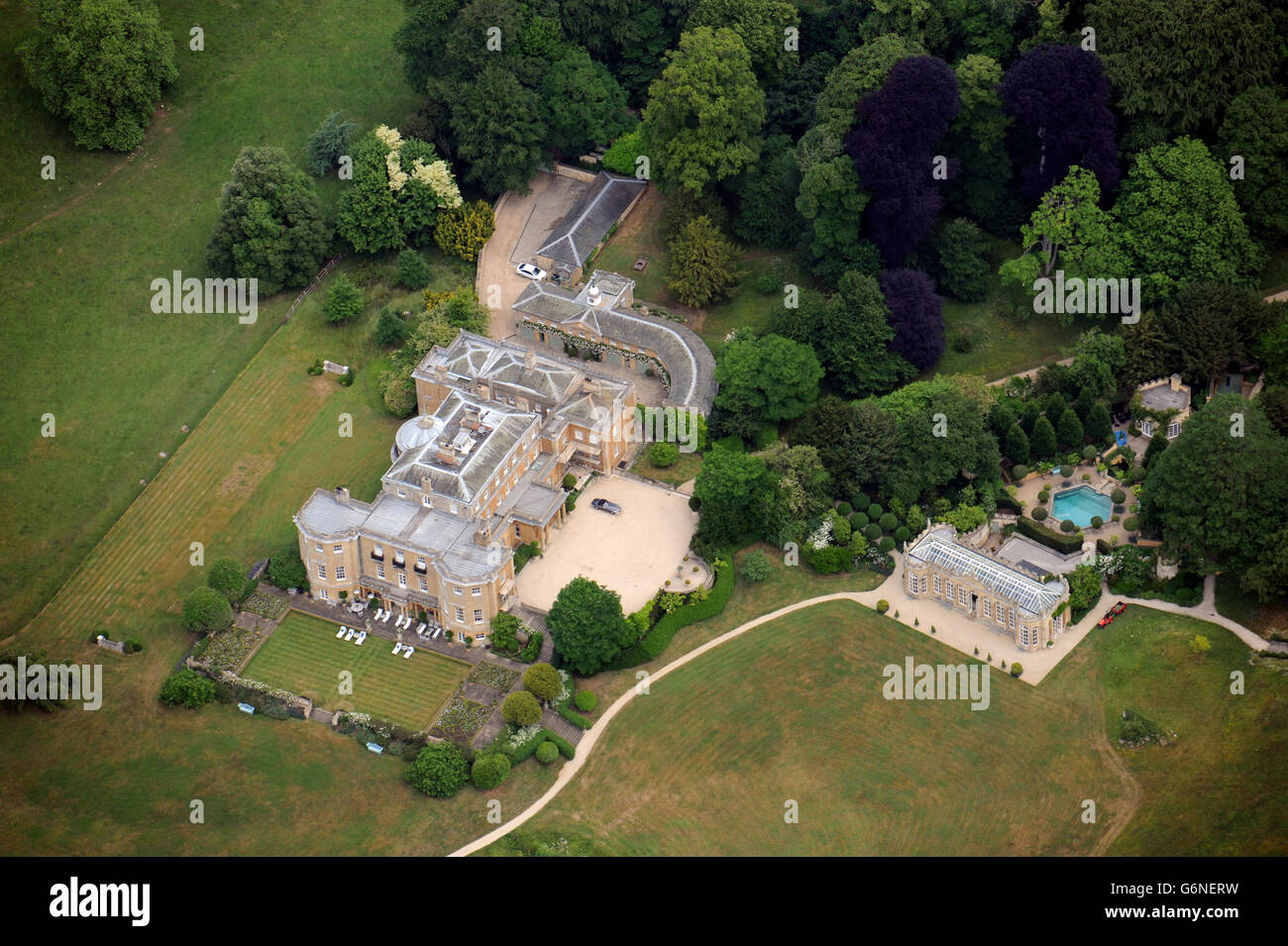 Aerial view of daylesford house near stow on the wold for See images of my house