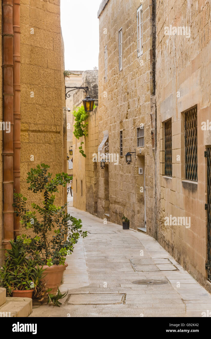 malta old alley houses - photo #13