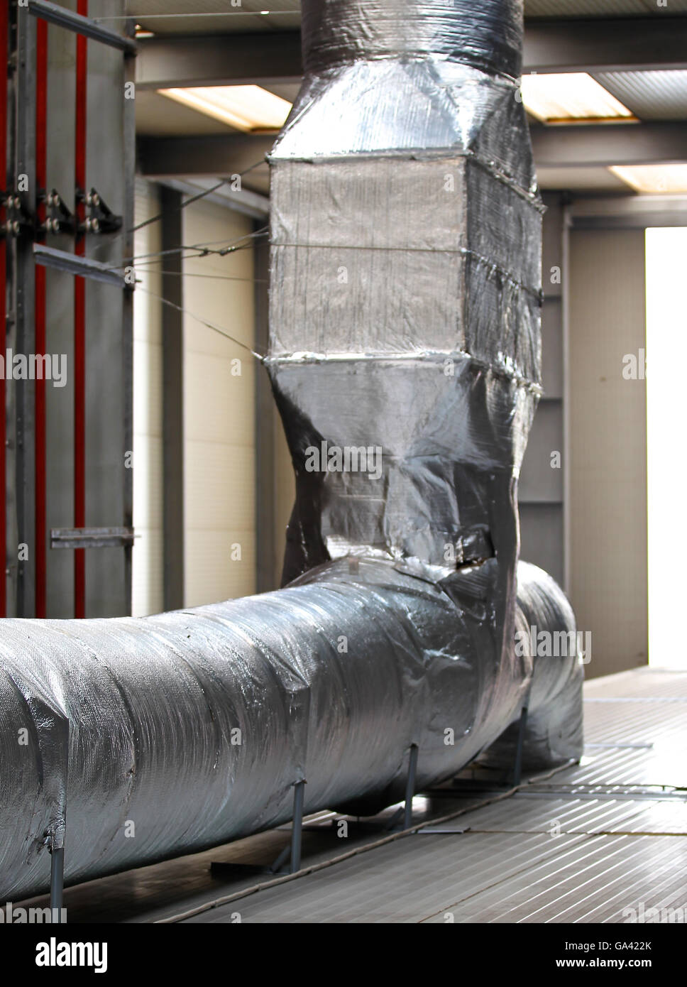Industrial Ventilation Ducts : Ducts as elements of a powerful industrial ventilation