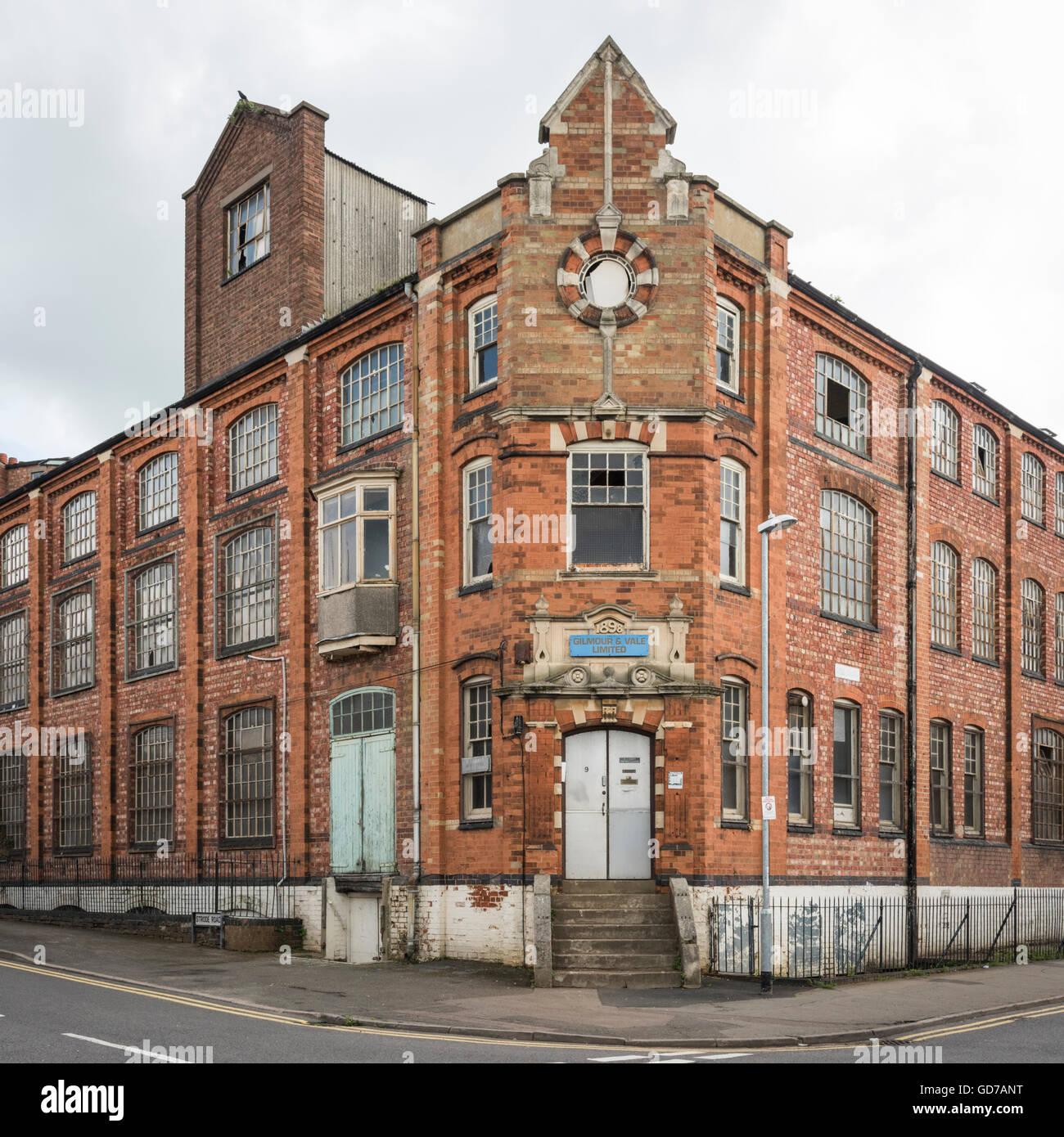 Abandoned Shoe Factory Uk