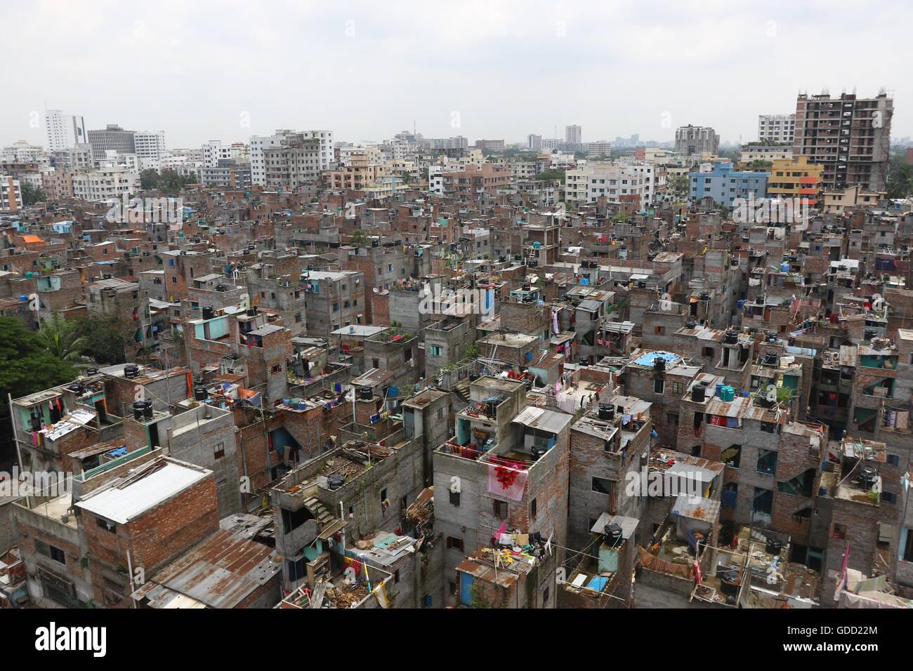 Sick Cities: A Scenario for Dhaka City
