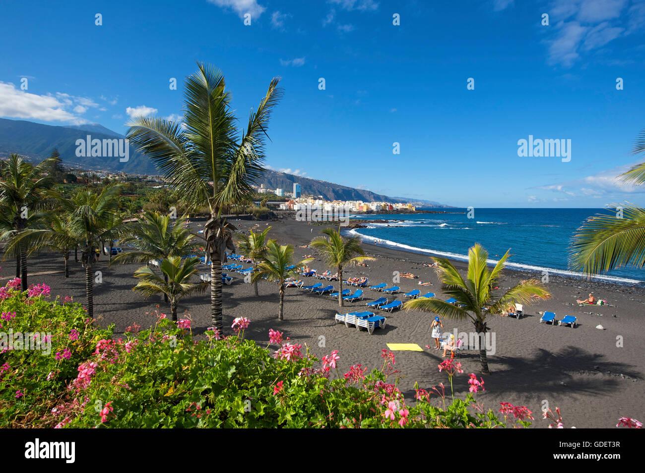 Playa jardin in puerto de la cruz tenerife canary - Playa jardin puerto de la cruz tenerife ...