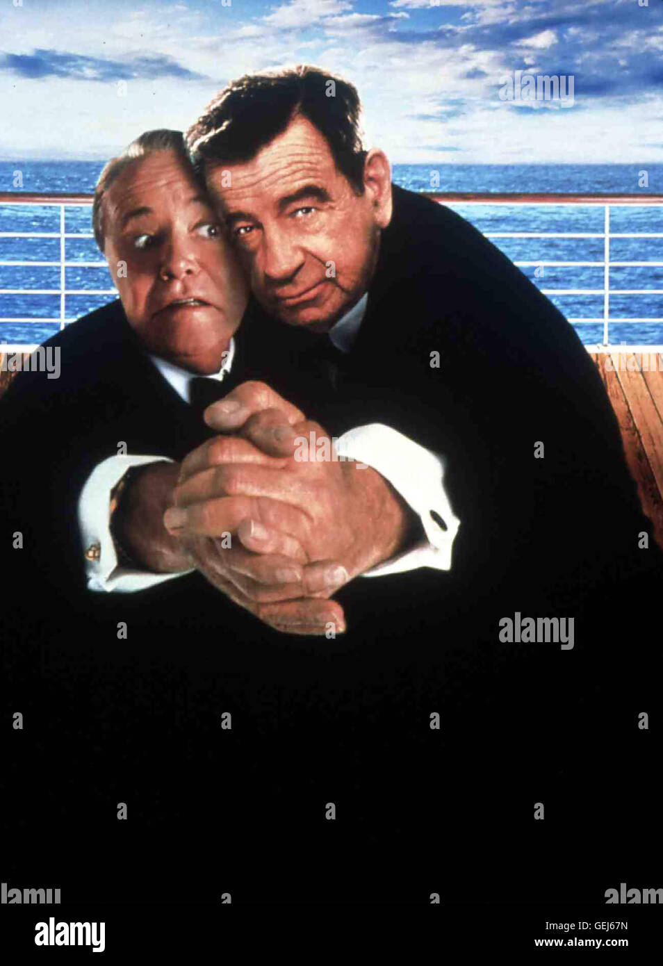 Odd couples. Jack-lemmon-walter-matthau-local-caption-1997-1990er-1990s-film-out-GEJ67N