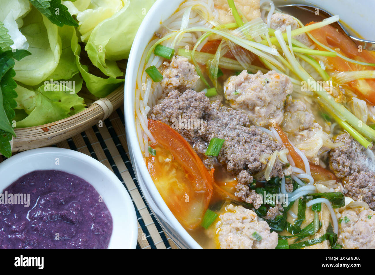 Stock Photo - Vietnamese food, bun rieu