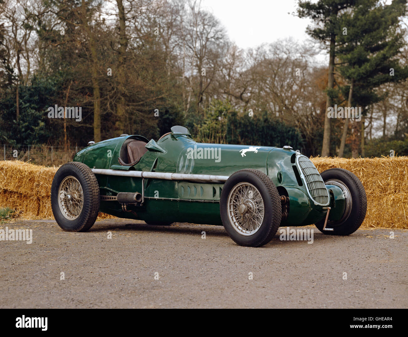 1935 alfa romeo 8c 35 3 8 litre grand prix single seat racing car stock photo royalty free. Black Bedroom Furniture Sets. Home Design Ideas