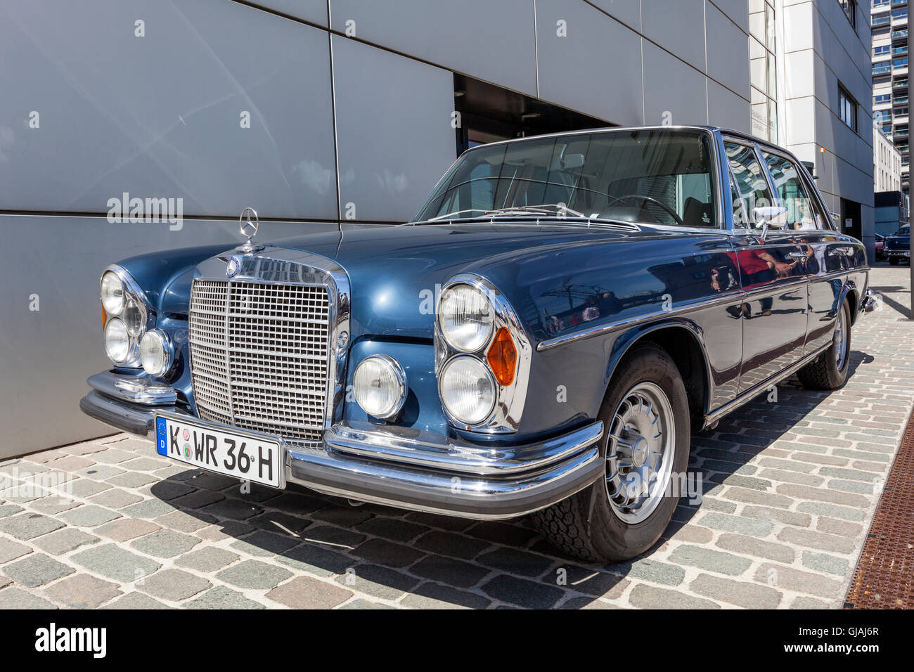 Historic mercedes benz w108 stock photo royalty free for Mercedes benz 108