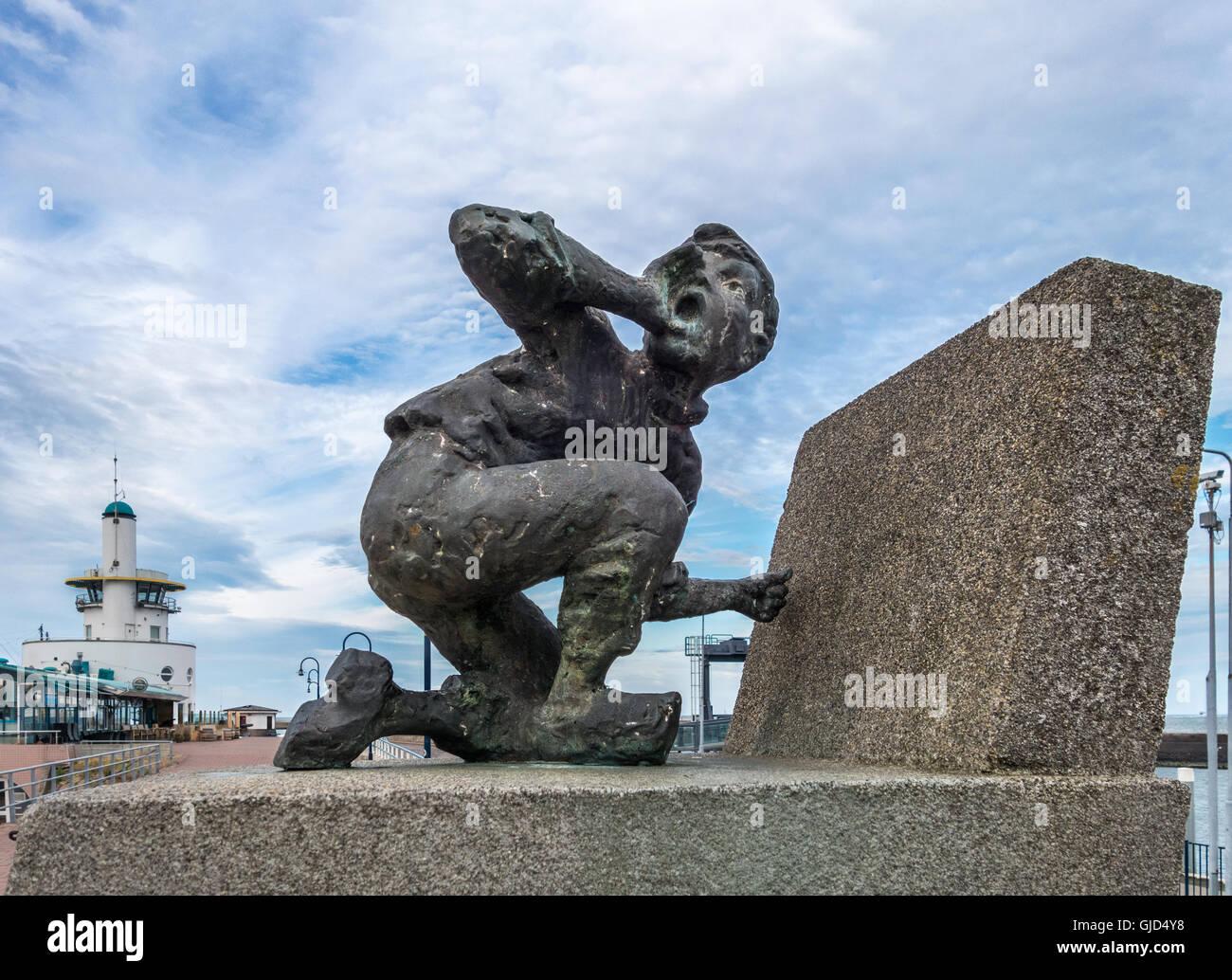 Hans Brinker. Statue o...