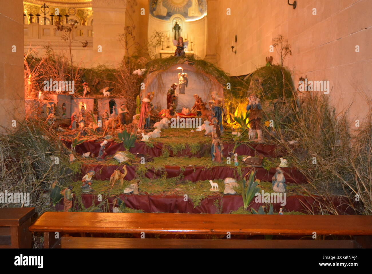Church of Transfiguration, Mt. Tabor, Israel Stock Photo ...