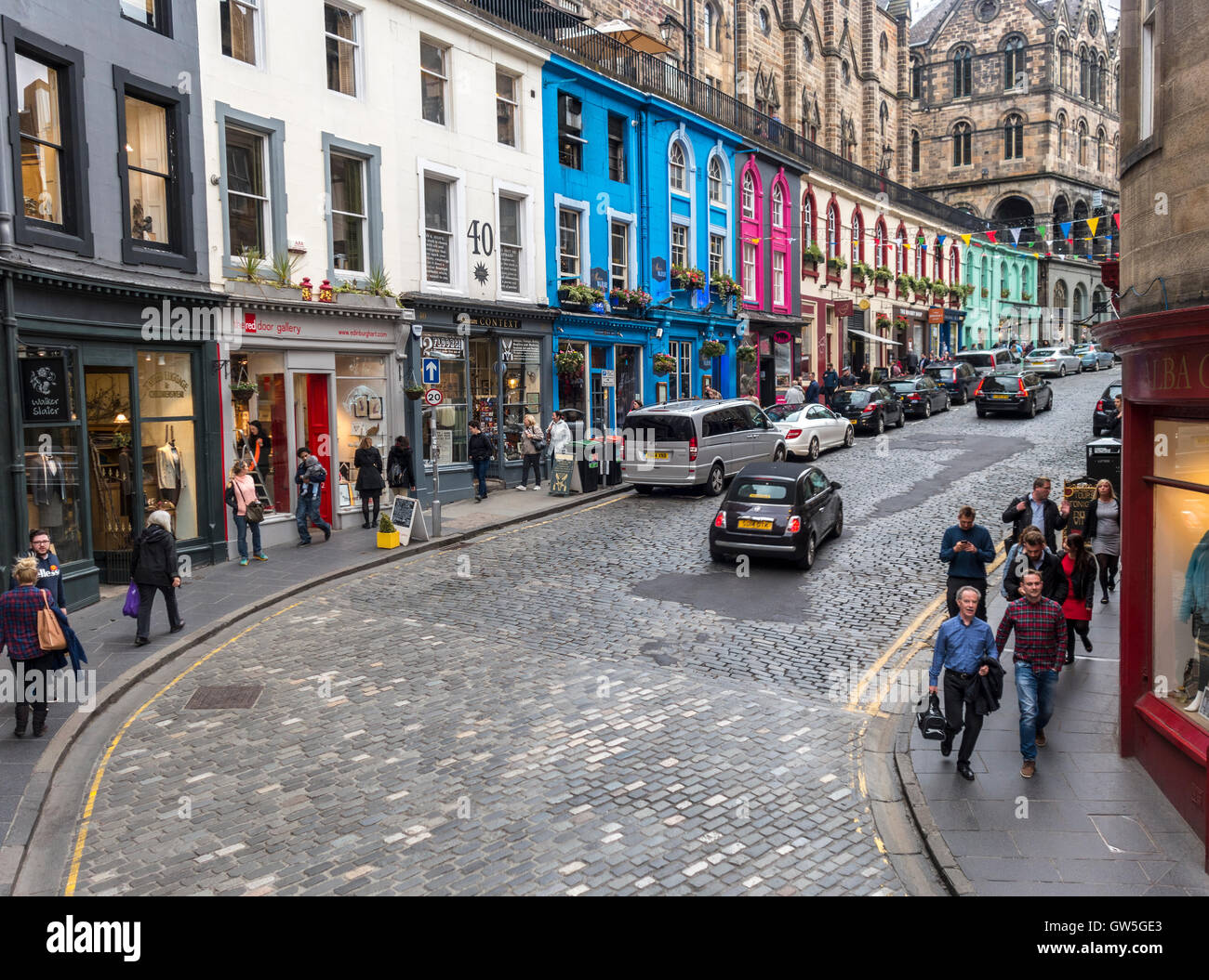 http://c7.alamy.com/comp/GW5GE3/edinburgh-west-bow-and-victoria-street-with-colorful-shops-in-the-GW5GE3.jpg