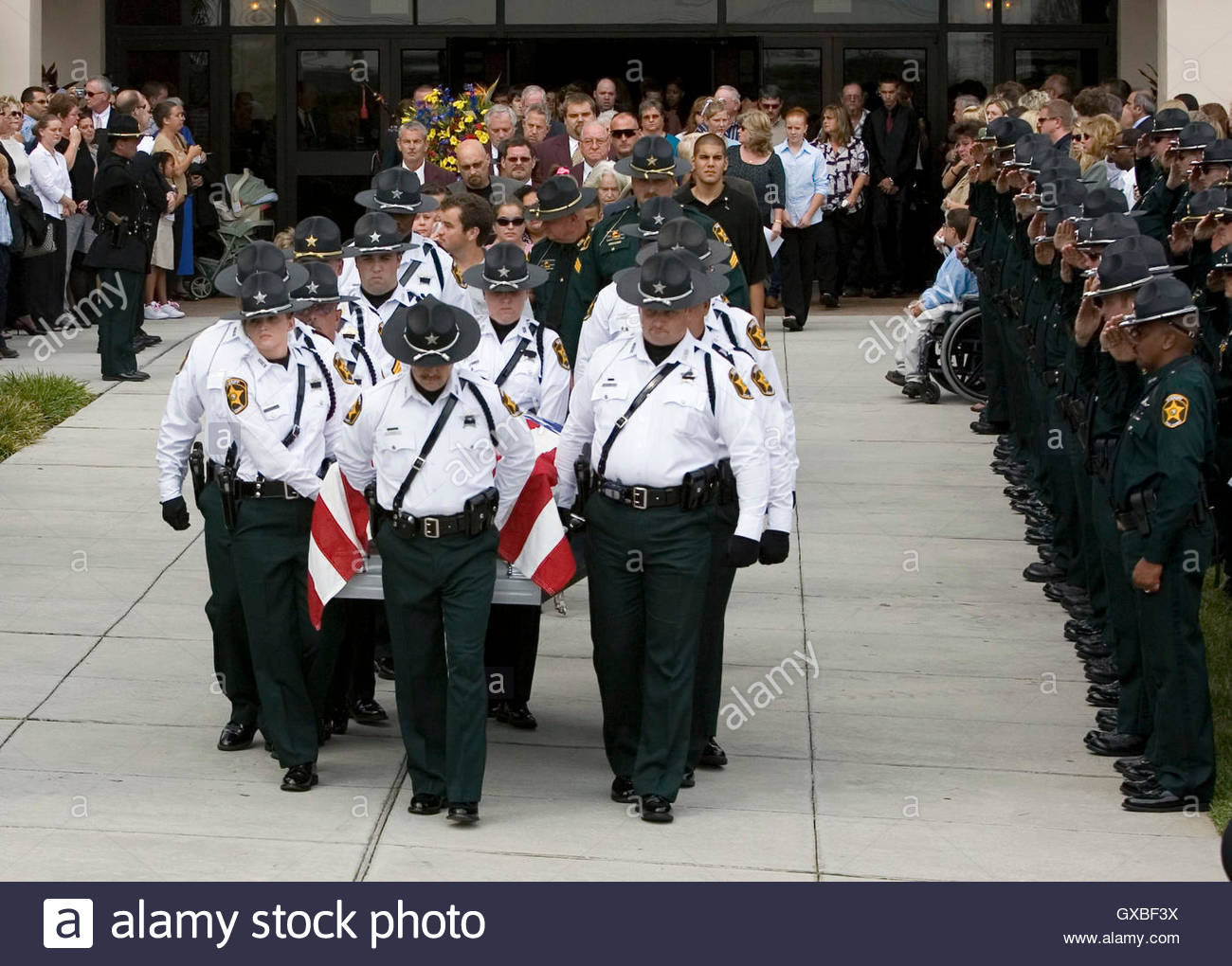 Polk County Sheriff S Department Honor Guard Carries The