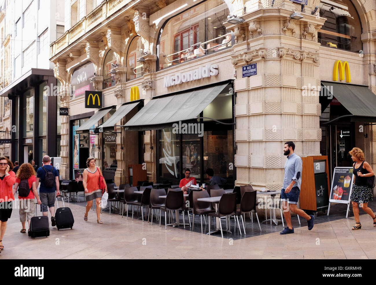 Restaurant Fast Food Bordeaux