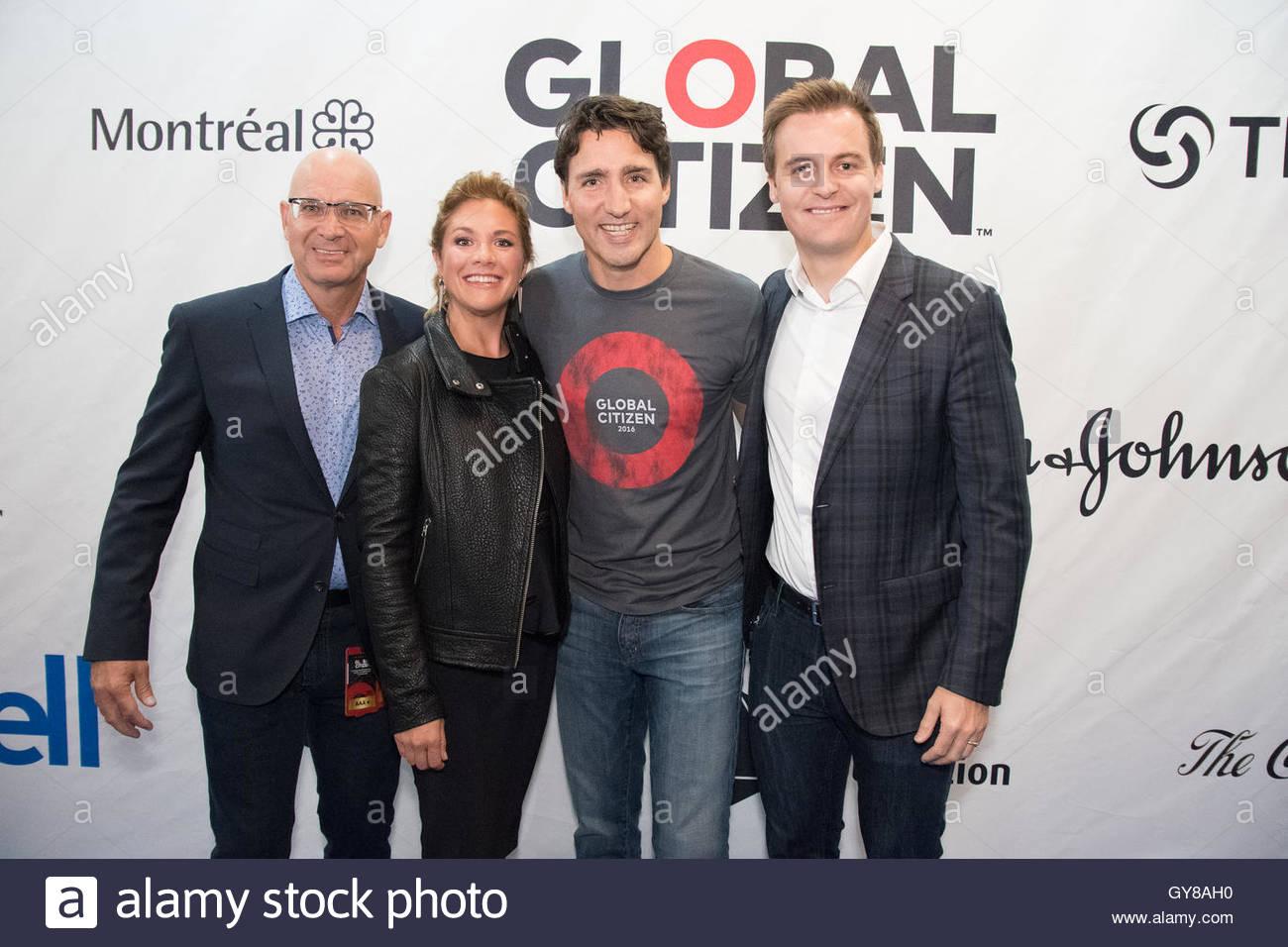 Montreal canada 17th sep 2016 canada 39 s prime minister for Au jardin avec melanie gregoire
