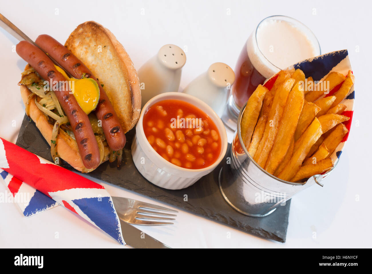 a-mealsnack-of-english-hot-dogs-served-w