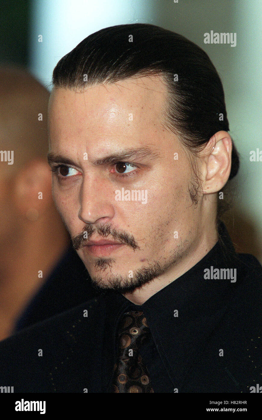 johnny depp quotfrom hellquot film premiere venice film festival