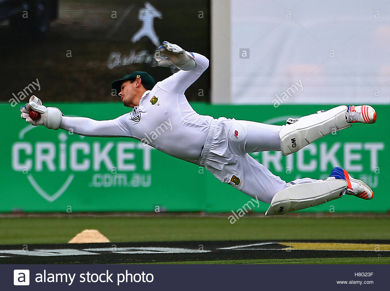 Cricket - Australia v South Africa - Second Test cricket match - Bellerive Oval, Hobart, Australia - 12/11/16 South Stock Foto