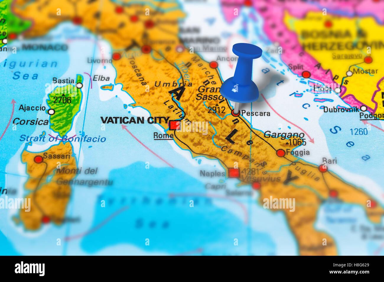 brevetto paracadutismo pescara italy map - photo#23