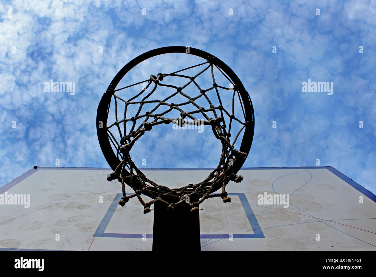 Basket Stock Foto