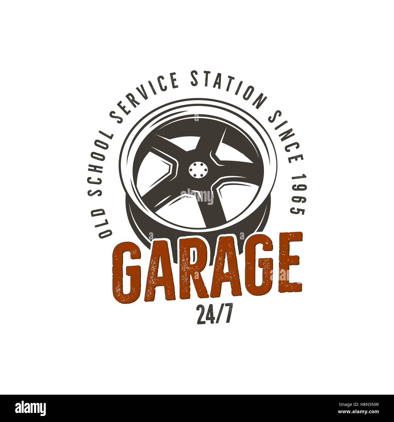 Label Car Repair