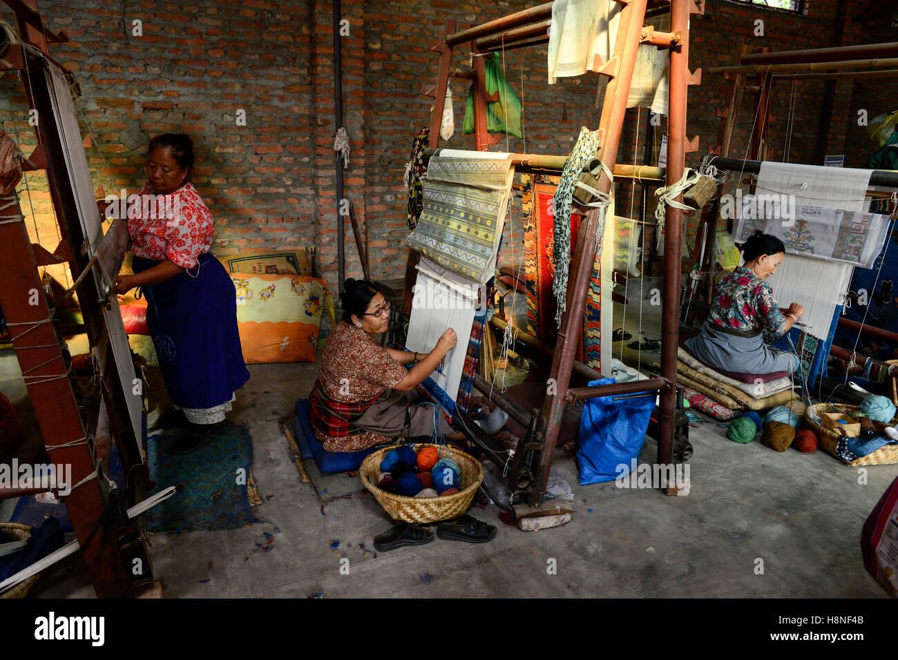 Nepal Kathmandu Lalitpur Tibetan Refugee Camp Jawalakhel