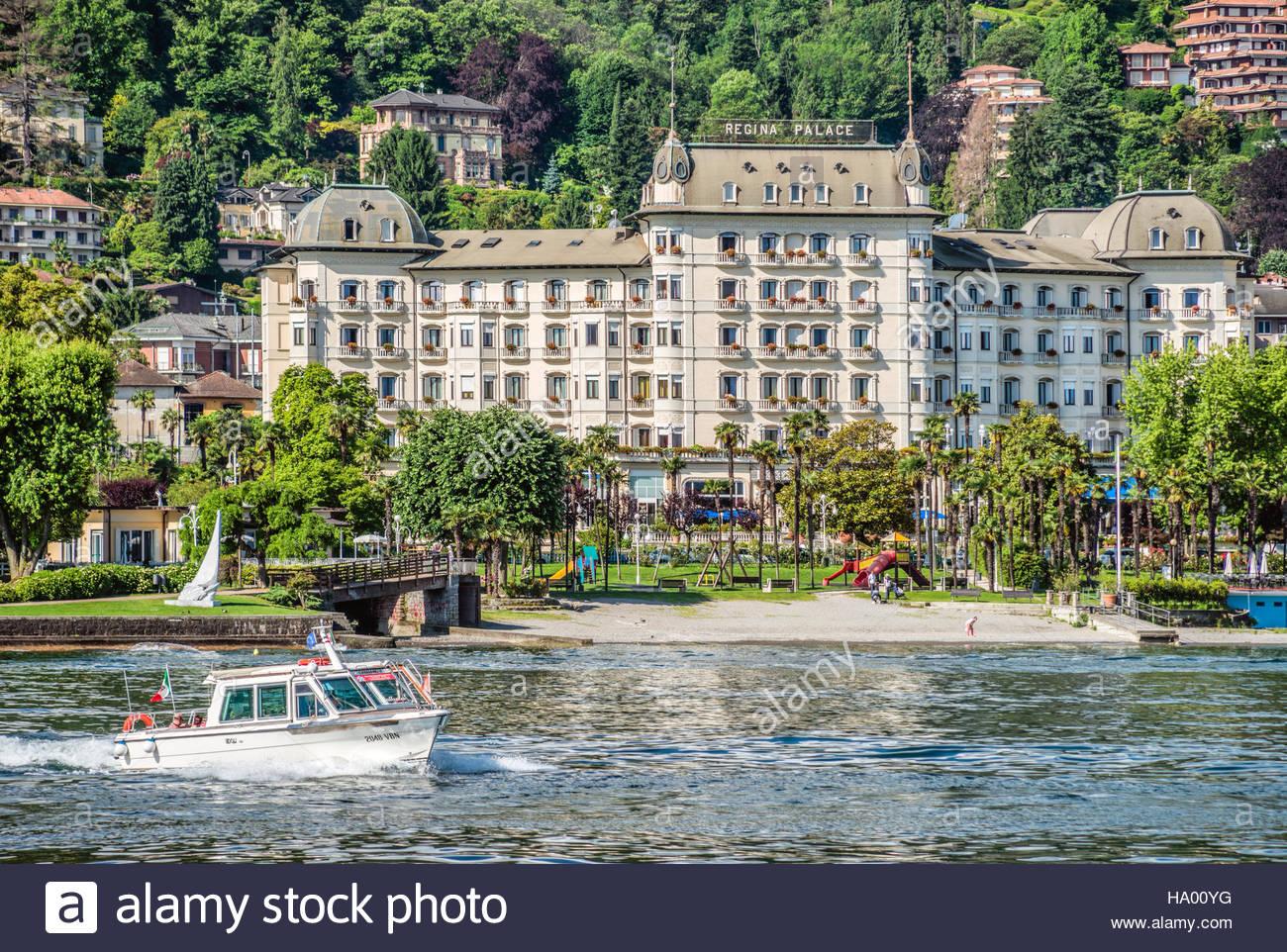 Regina palace hotel at the waterfront of stresa at lago for Designhotel lago maggiore