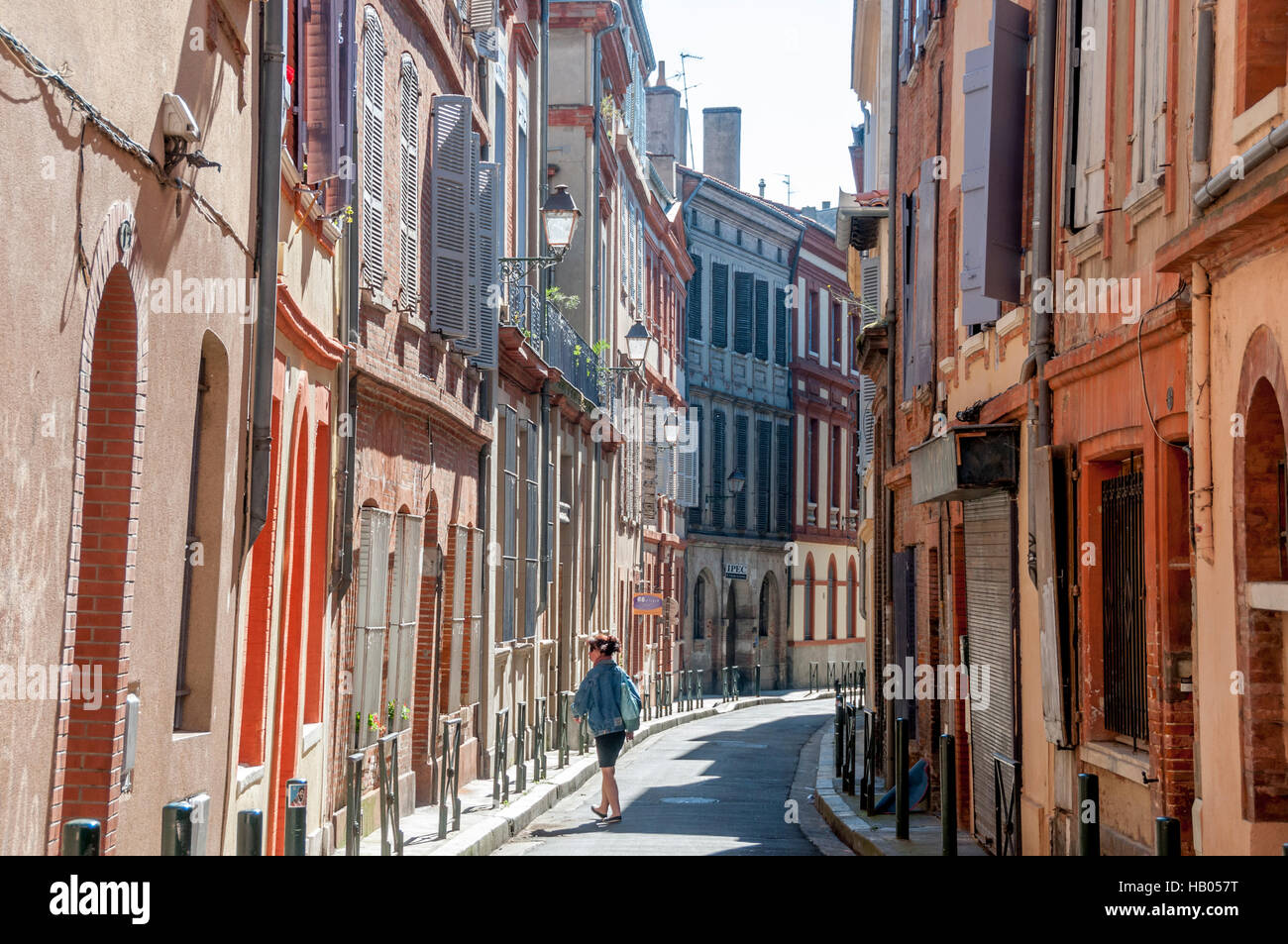 Toulouse city centre haute garonne france europe stock - Centre bouddhiste haute garonne ...
