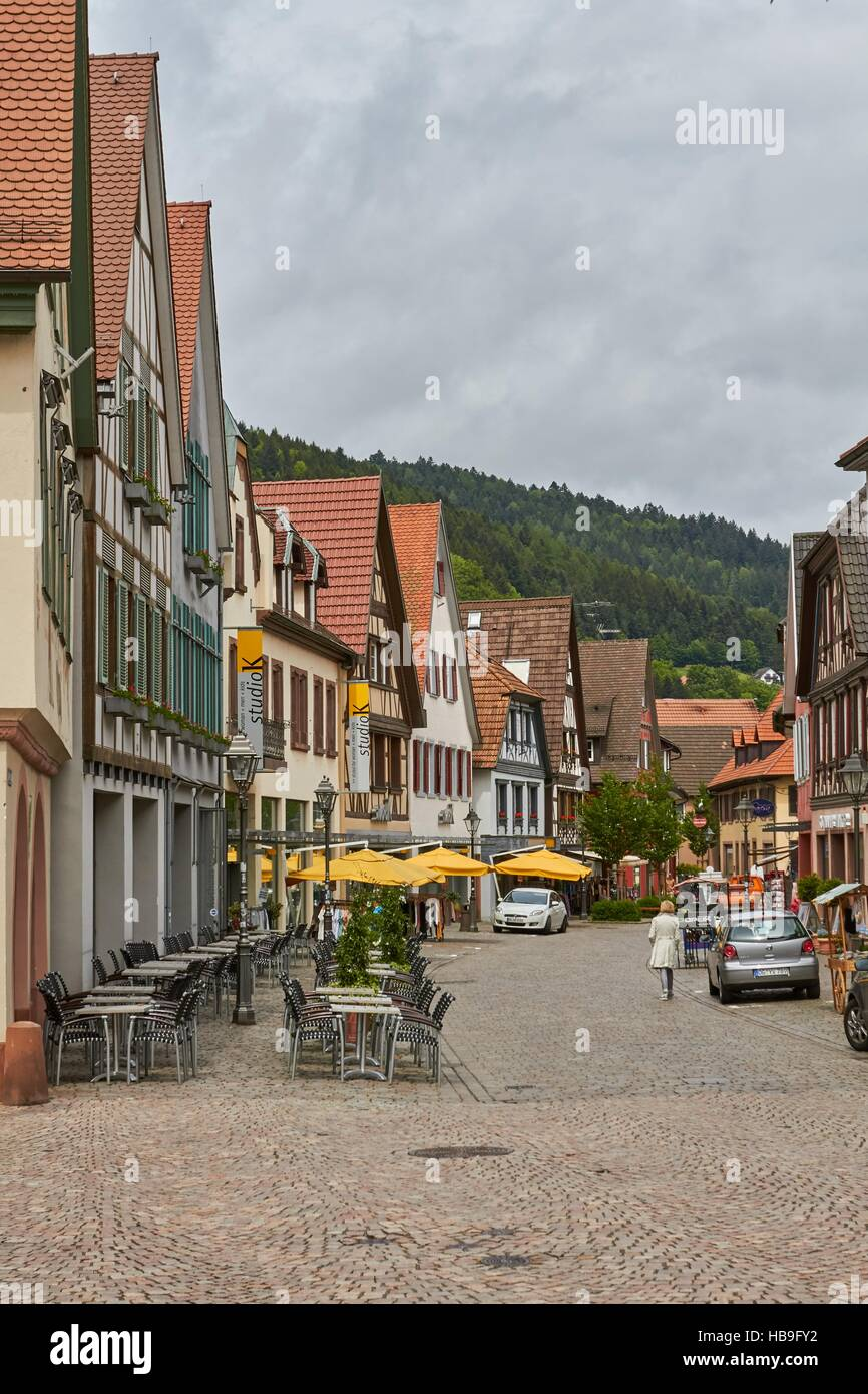 Black Forest: Haslach in Black Forest Stock Foto