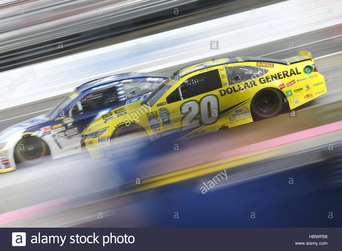 NASCAR: Oct 30 Goody's Fast Relief 500 Stock Foto