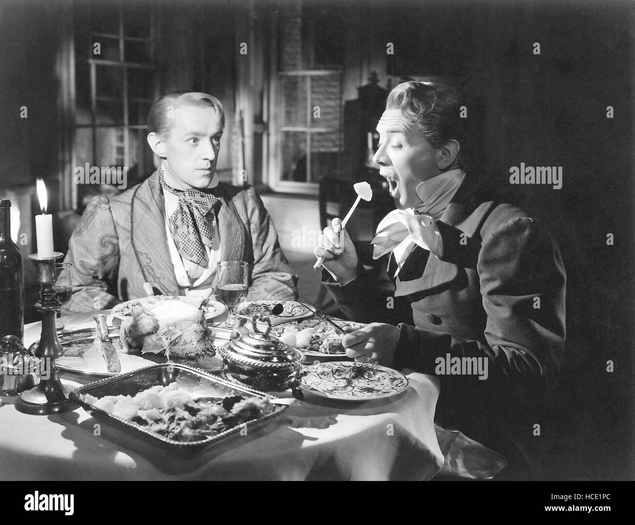 GREAT EXPECTATIONS, from left: Alec Guinness, John Mills, 1946 Stock Photo