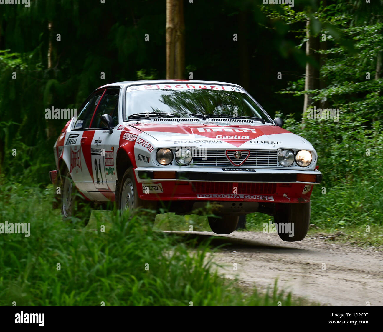 Xander Heijen, Alfa Romeo GTV6, Forest Rally Stage