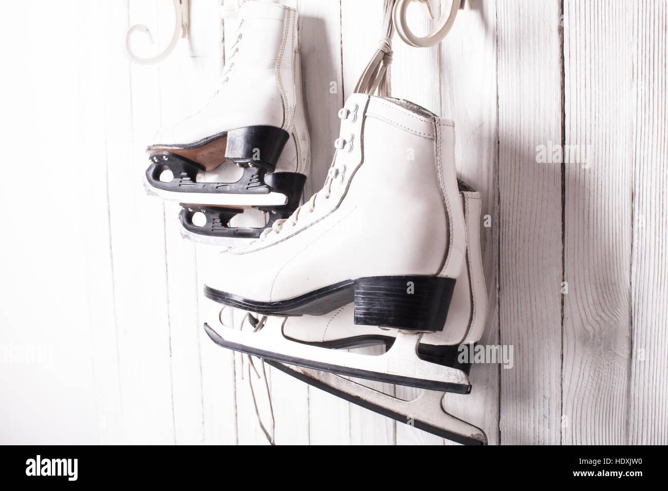 Skates close up Stock Foto