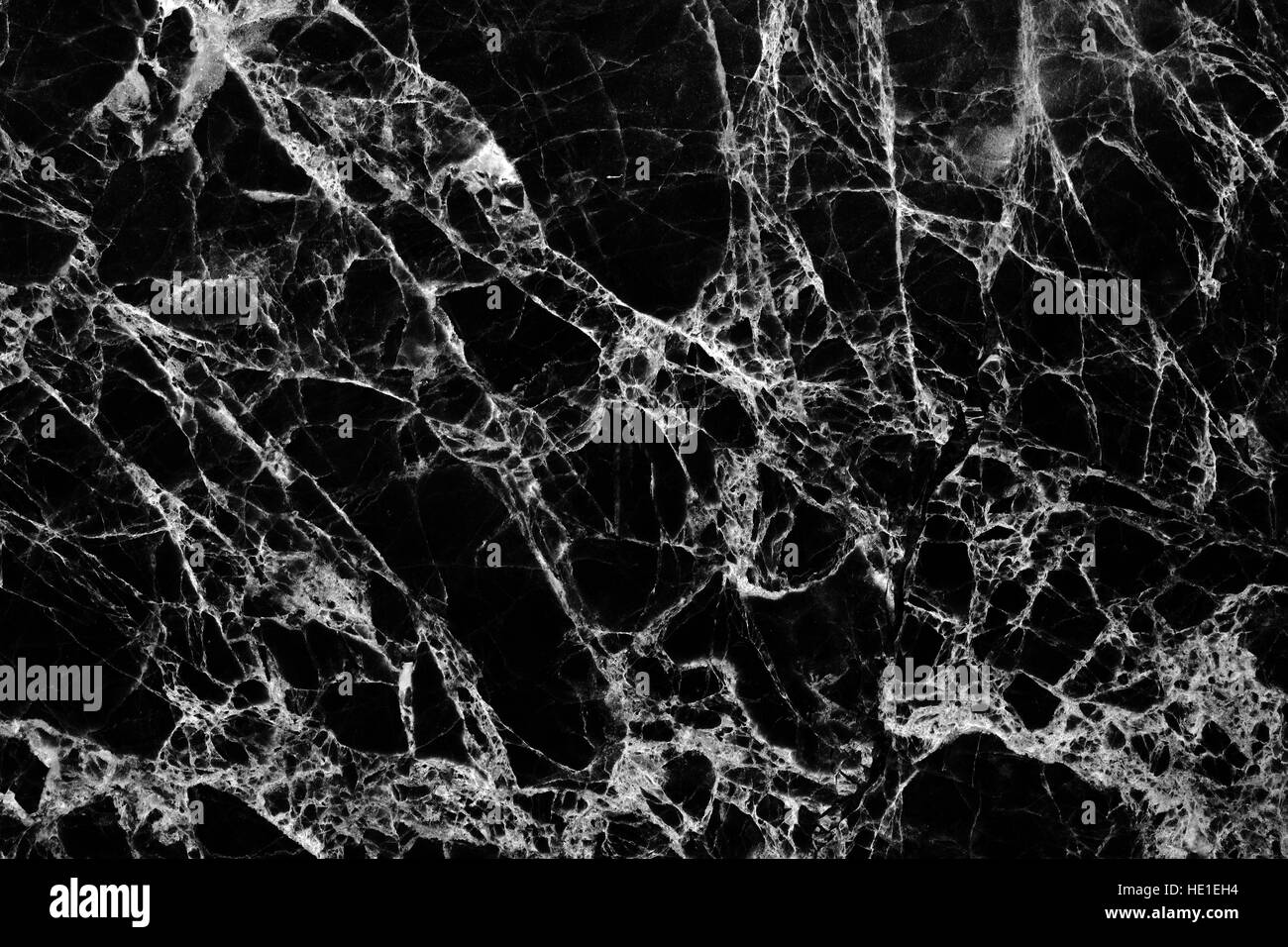 Black and white tone of black marble pattern texture for White and black marble