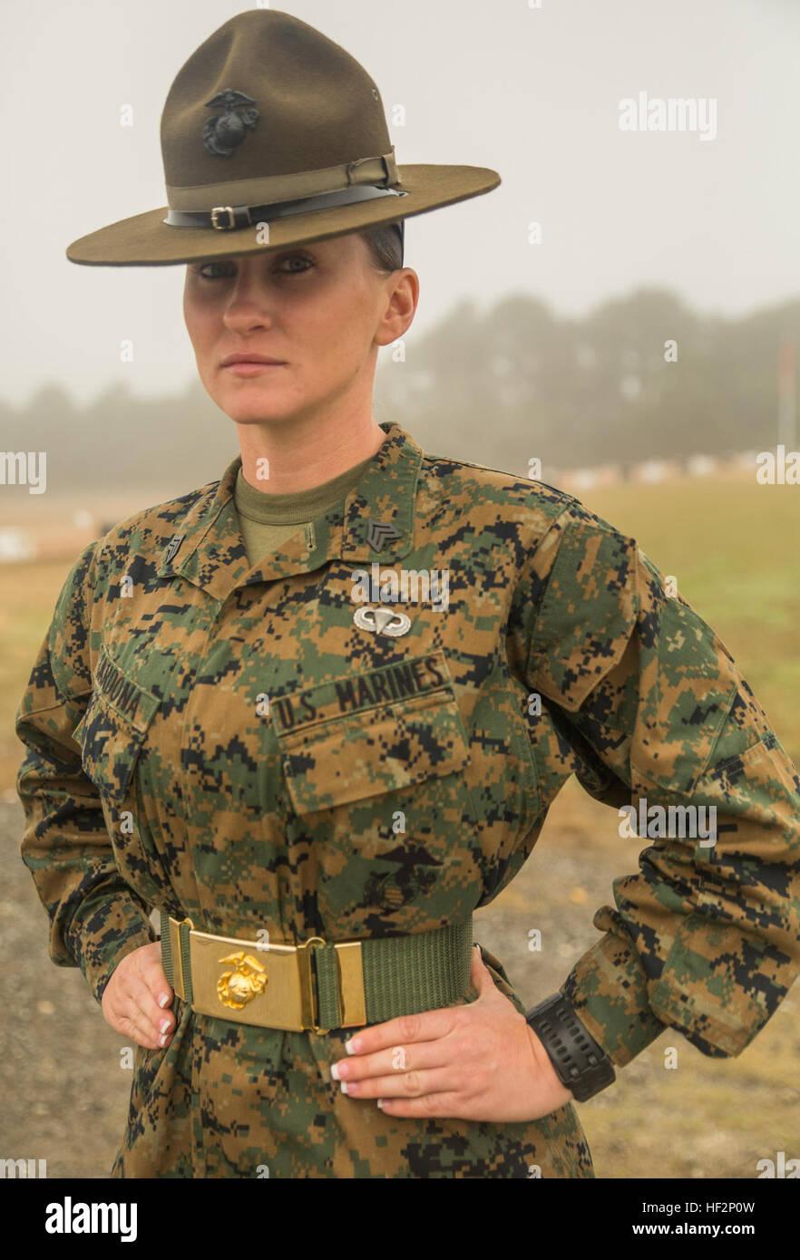 Sgt. Stevie Cardona currently serves as a Marine Corps ...