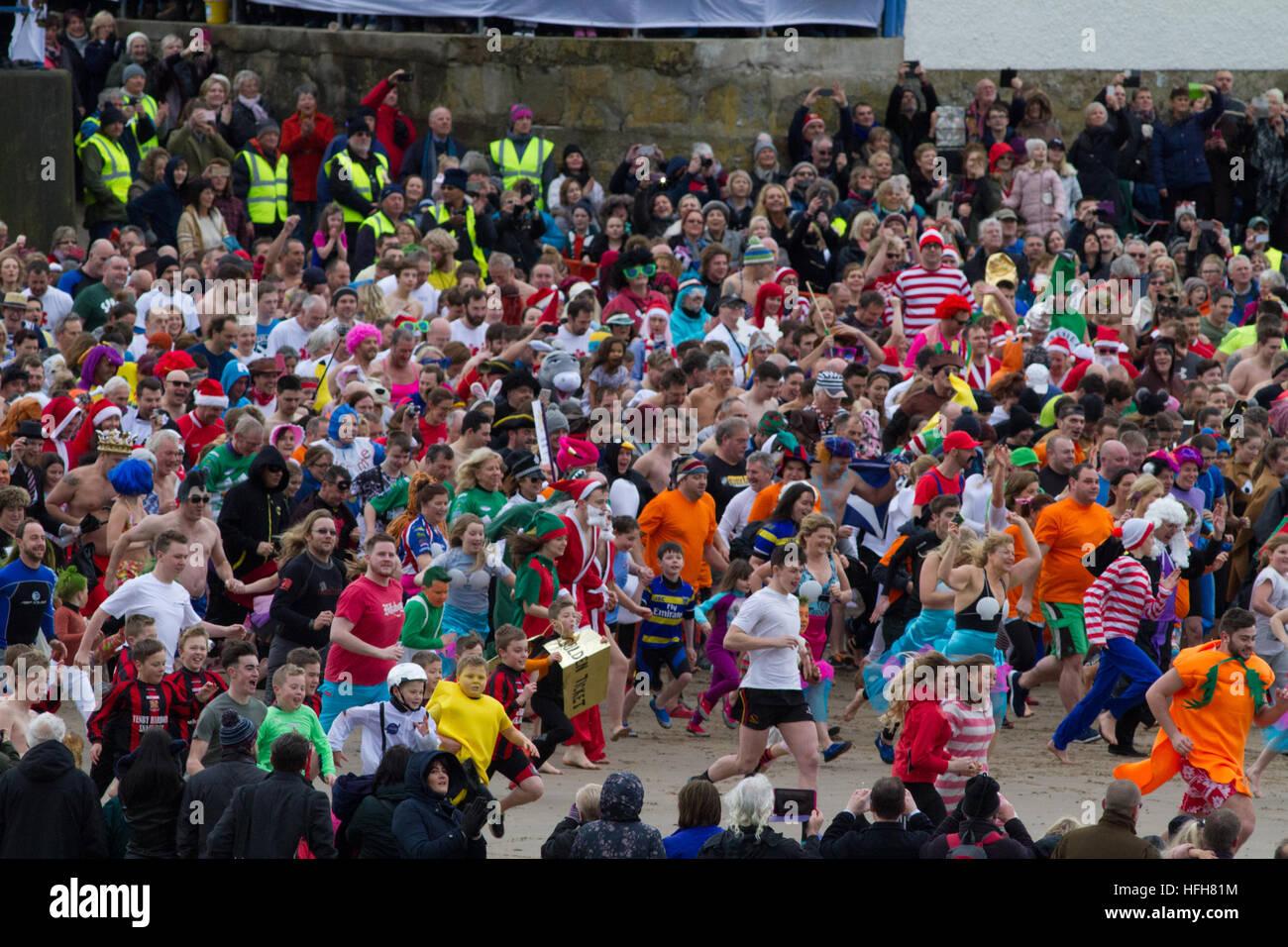 west-wales-uk-1st-january-2017-thousands