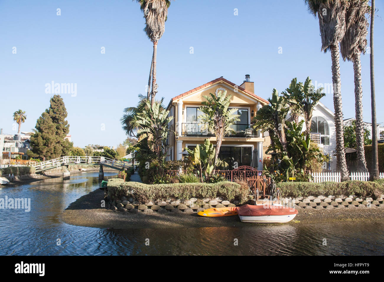Los Angeles Venice Canals Abbot Kinney Neighborhoods Homes