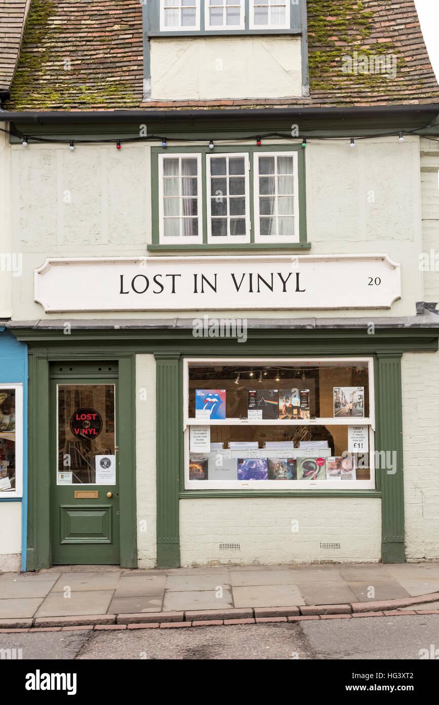 The Lost In Vinyl Record Store Or Shop In Bridge Street