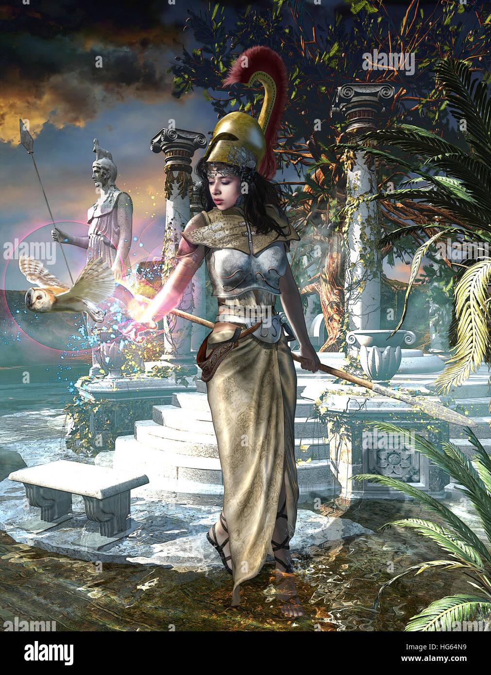 Of athena greek wisdom goddess