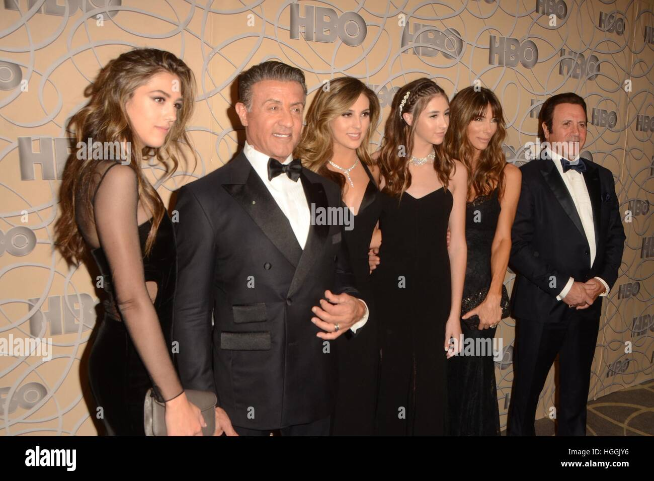 Beverly Hills, USA. 8th Jan, 2017. Sylvester Stallone ...