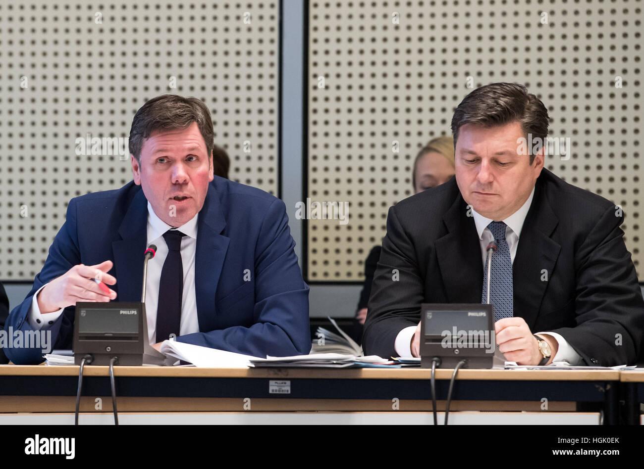 Berlin Germany 23rd Jan 2017 Interior State Secretary Torsten Stock Photo Royalty Free