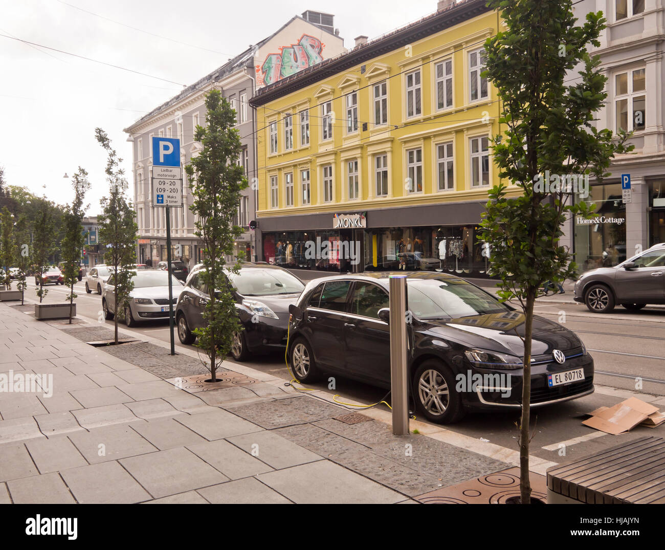 How To Charge Electric Car With On Street Parking