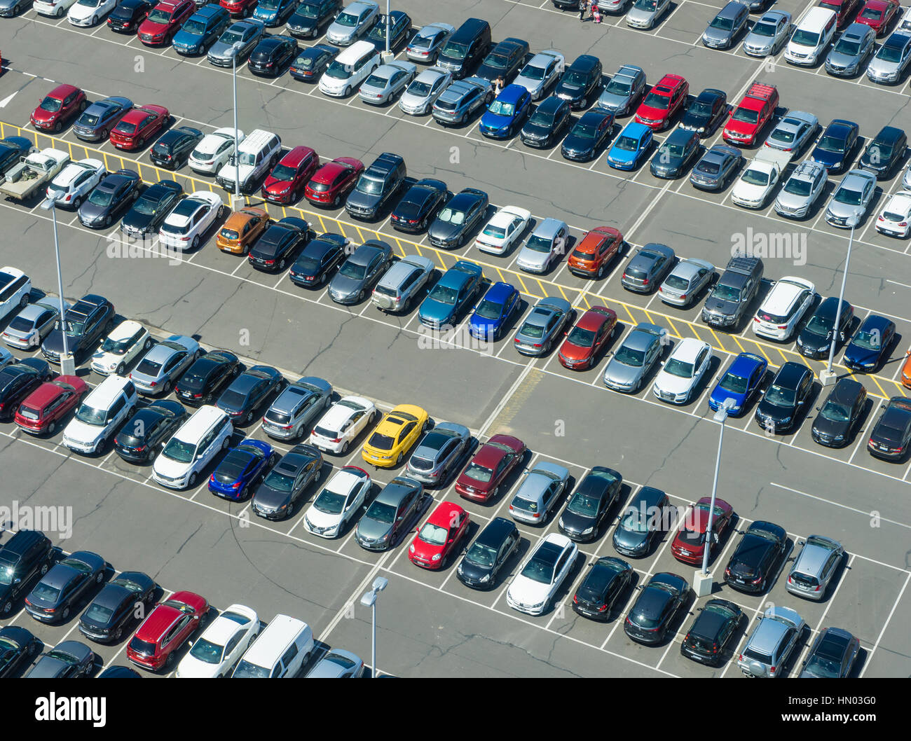 Car Park Overhead View